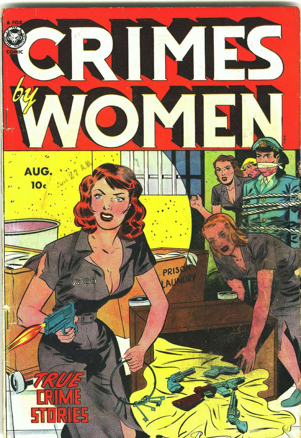 Comic Book Cover For Crimes by Women #14