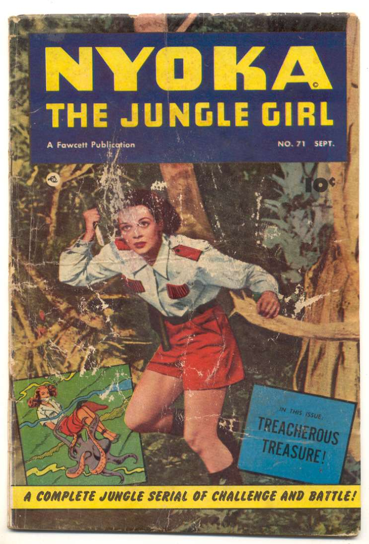 Comic Book Cover For Nyoka the Jungle Girl #71