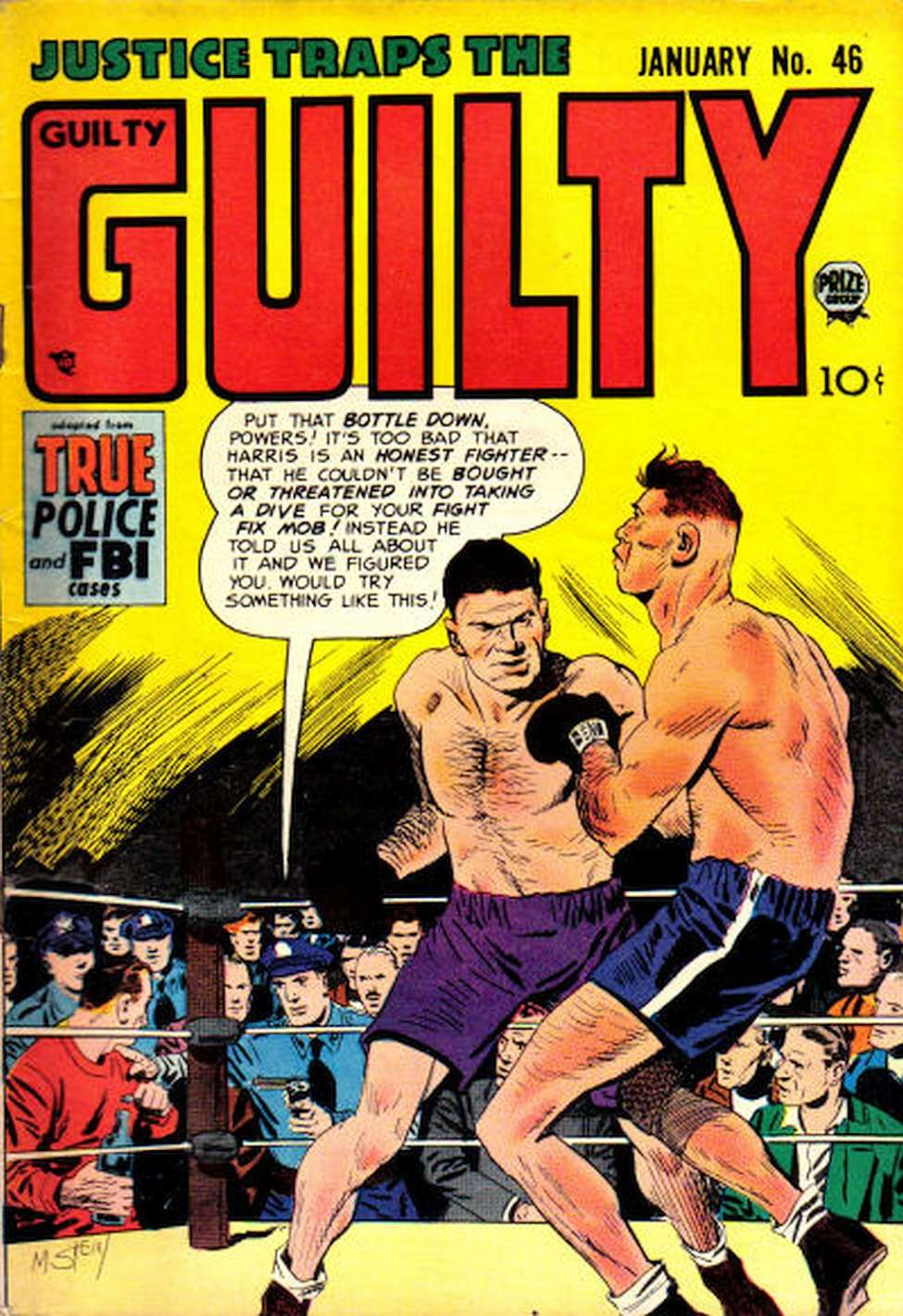 Comic Book Cover For Justice Traps the Guilty v6 4 (46)