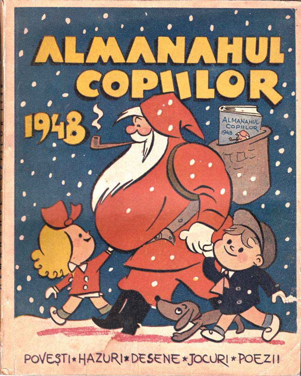 Comic Book Cover For Almanahul Copiilor 1948