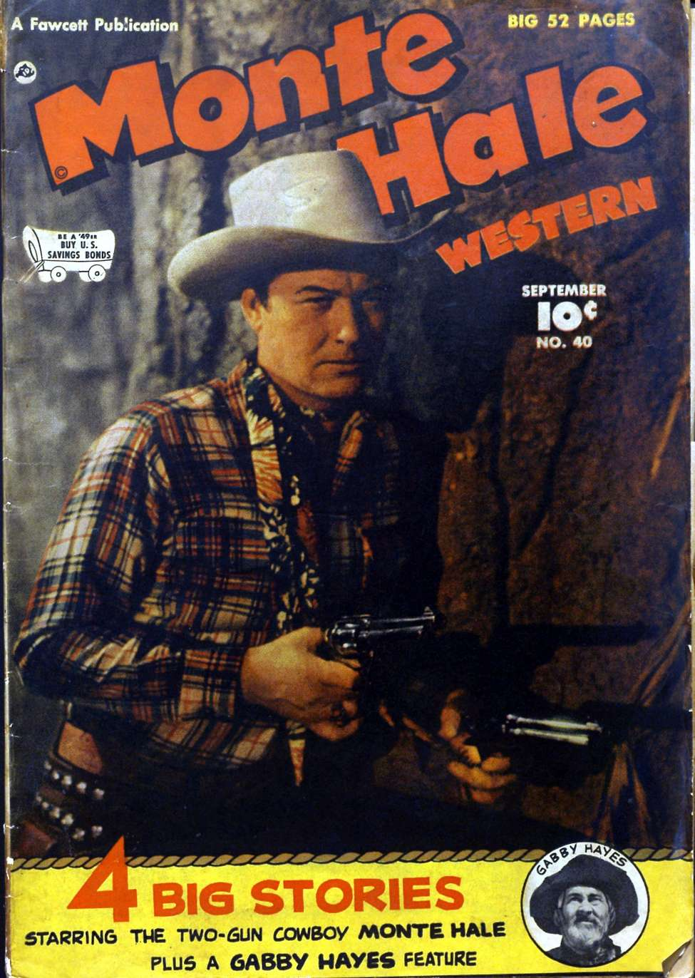 Comic Book Cover For Monte Hale Western #40