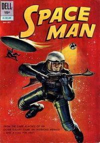 Large Thumbnail For Space Man #2