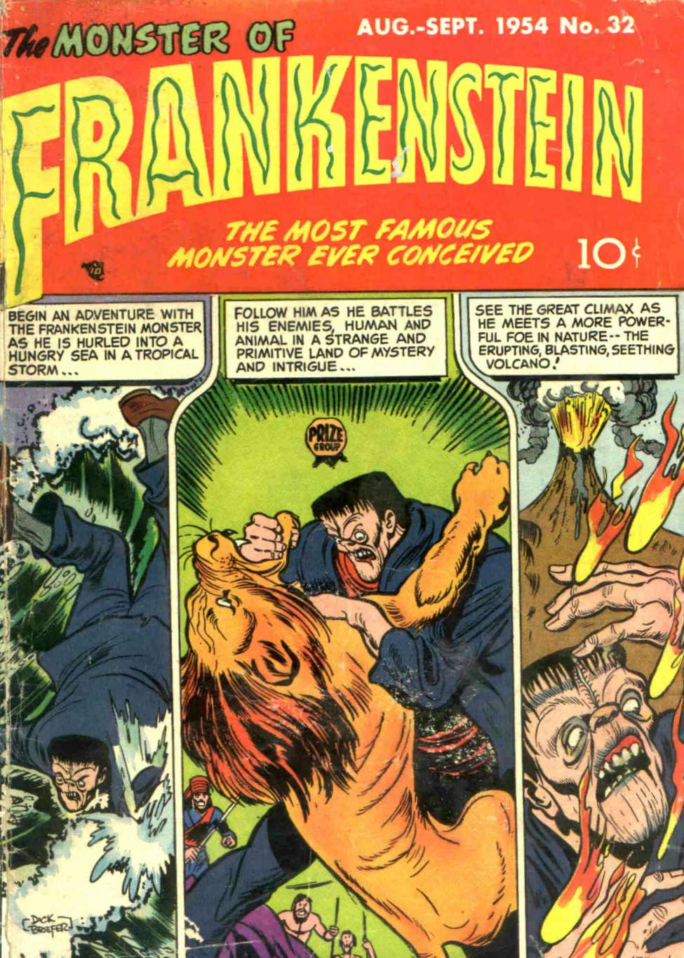 Comic Book Cover For Frankenstein v5 4 (32)