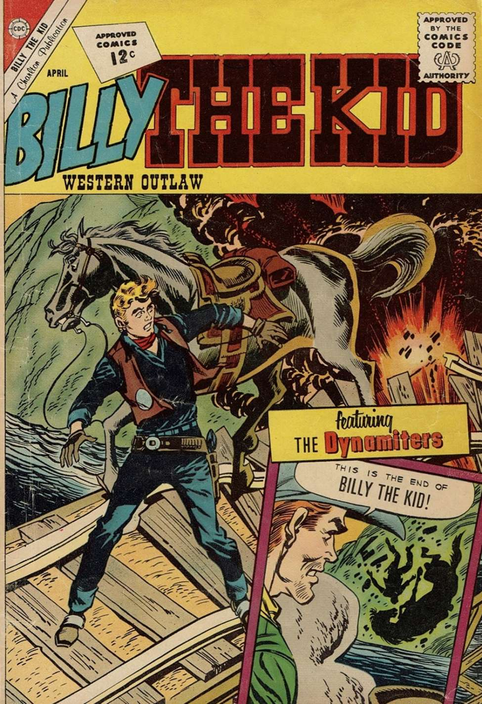 Comic Book Cover For Billy the Kid #33