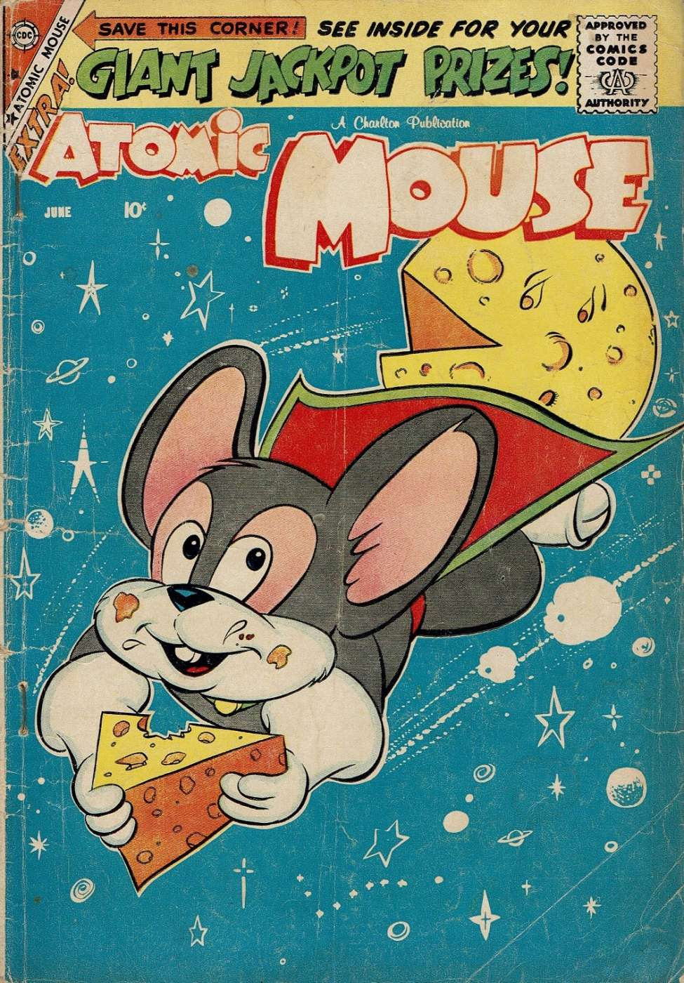 Comic Book Cover For Atomic Mouse #31