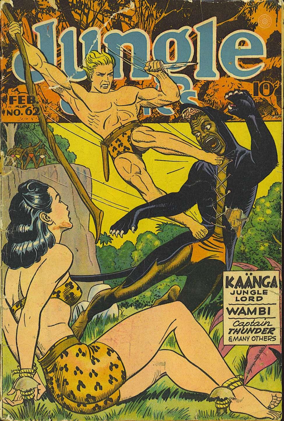 Comic Book Cover For Jungle Comics #62
