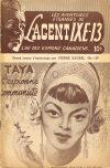 Cover For L'Agent IXE 13 v2 147 Taya l'espionne communiste