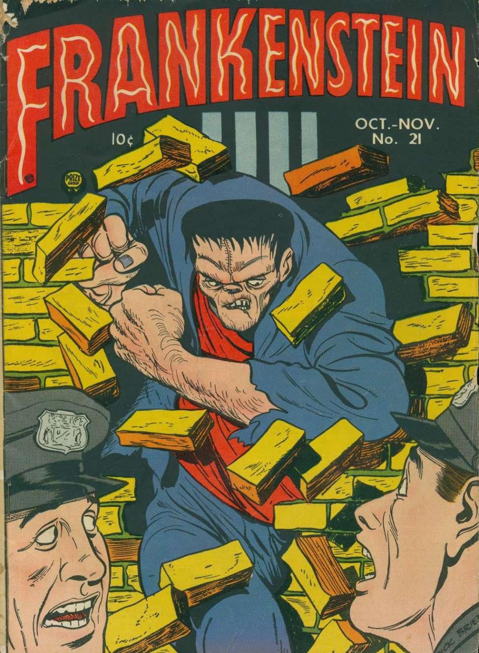 Comic Book Cover For Frankenstein v3 5 (21)