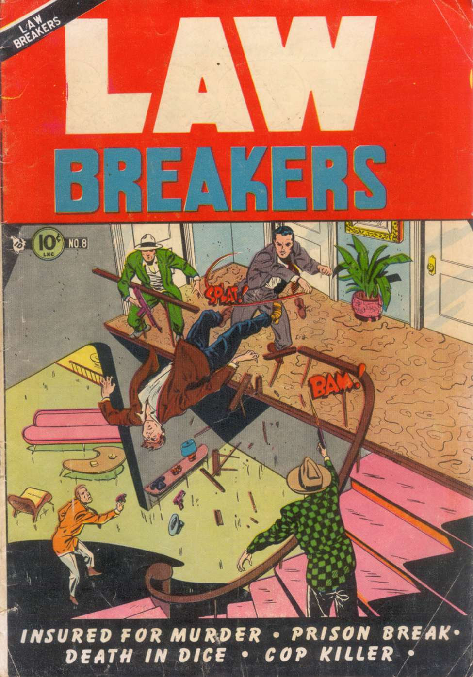 Comic Book Cover For Lawbreakers #8
