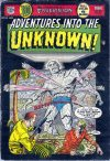 Cover For Adventures into the Unknown 54