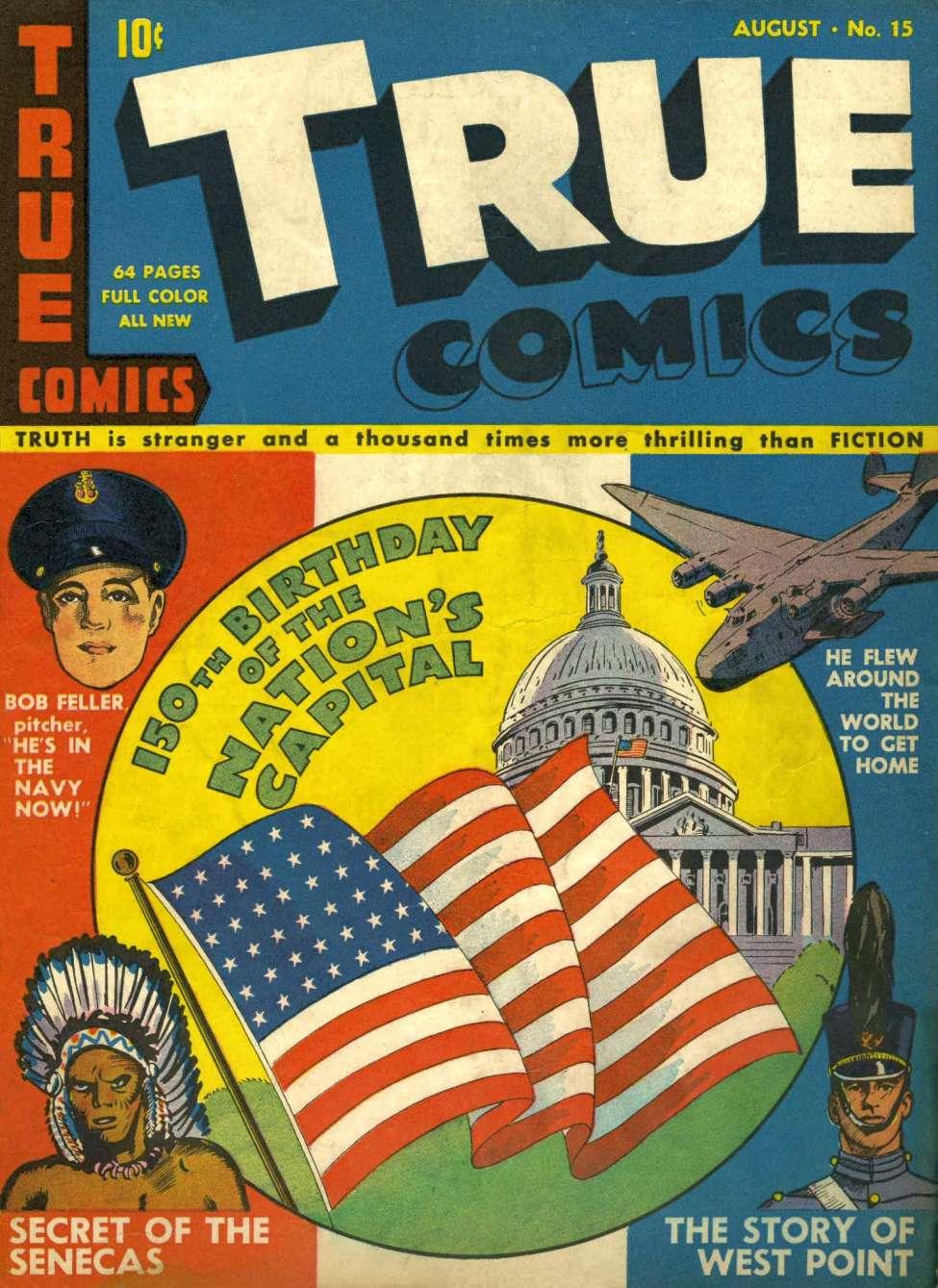 Comic Book Cover For True Comics #15 - Version 1