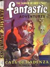 Cover For Fantastic Adventures v6 4 Cats of Kadenza Don Wilcox