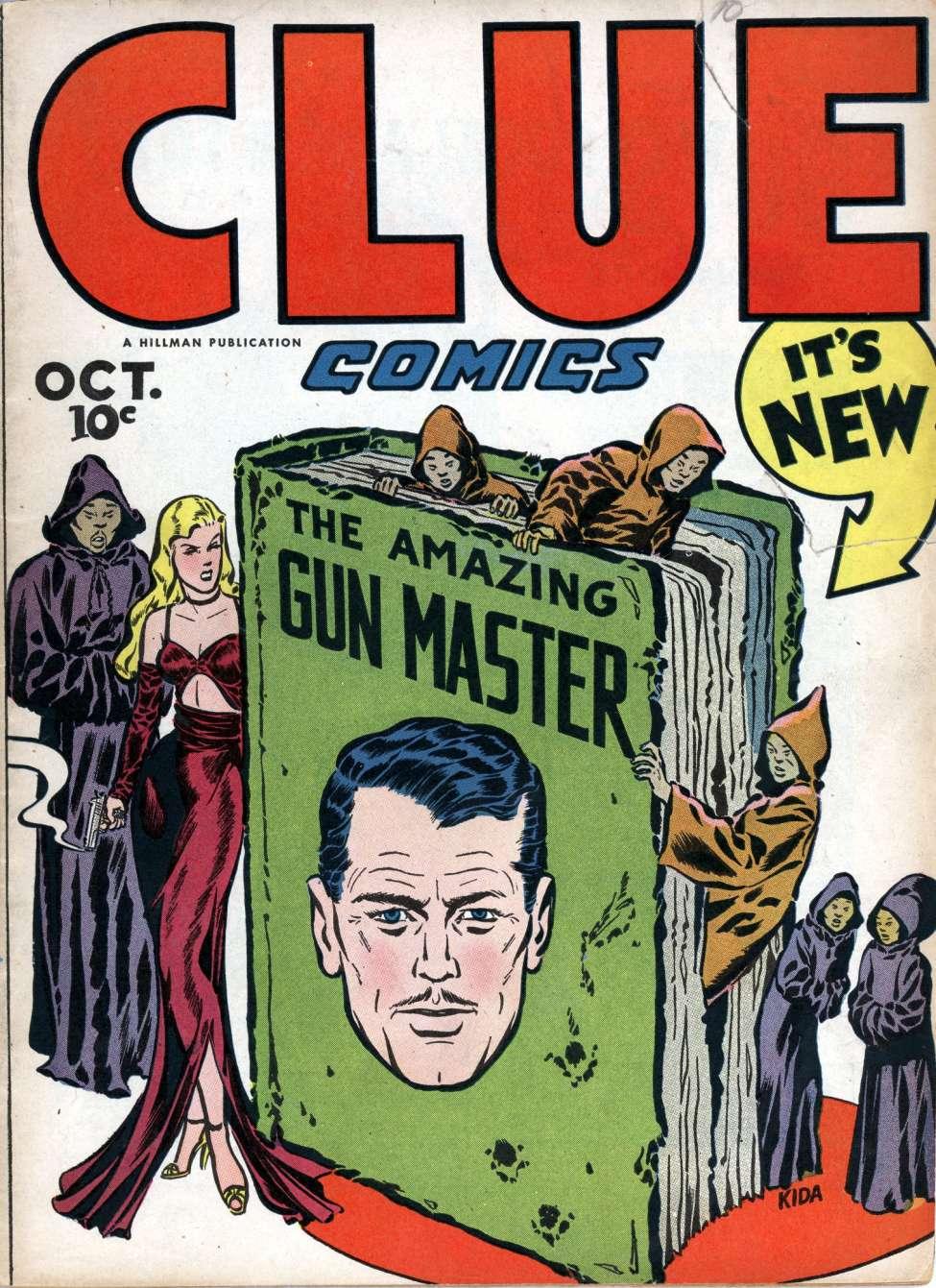 Comic Book Cover For Clue Comics v1 10 [10]