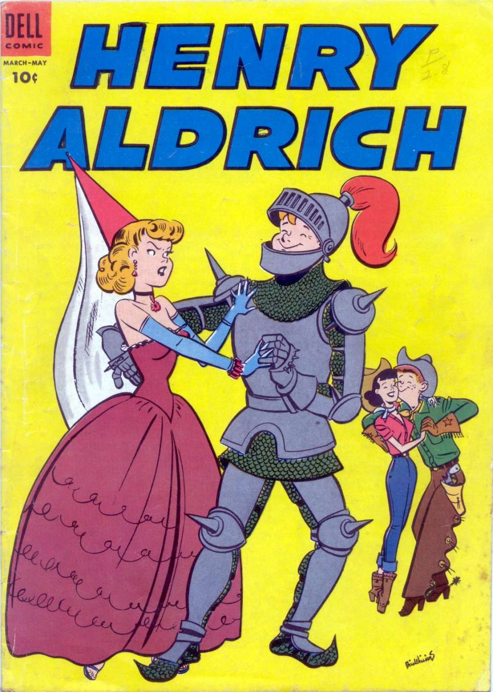Comic Book Cover For Henry Aldrich #20