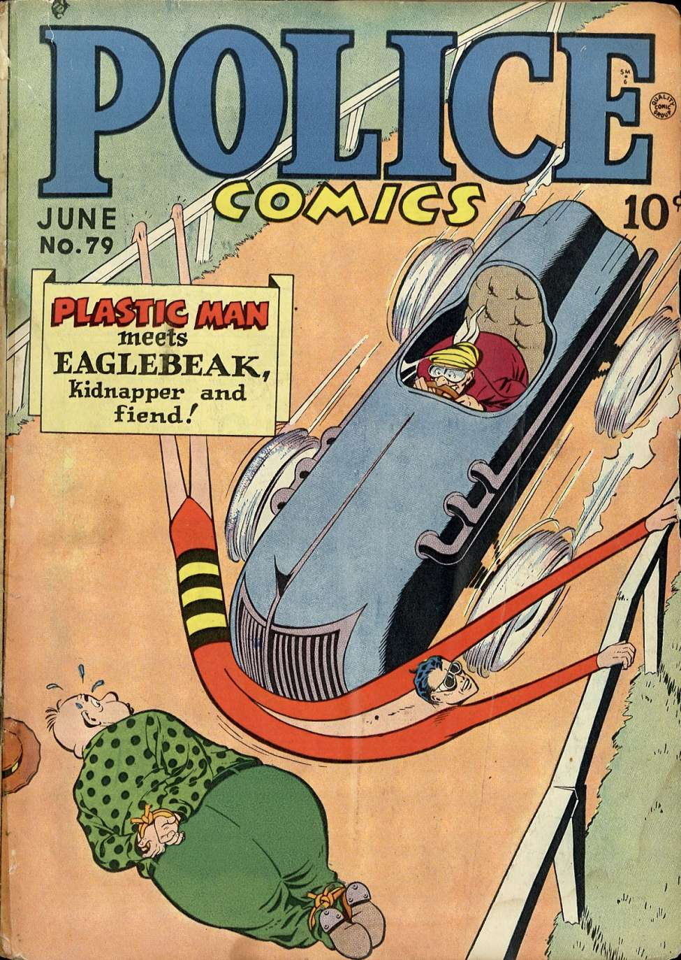Comic Book Cover For Police Comics #79
