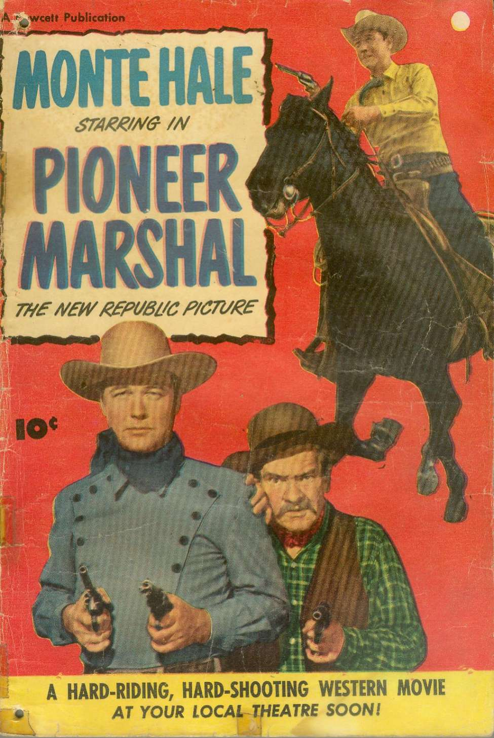 Comic Book Cover For Pioneer Marshal [nn]