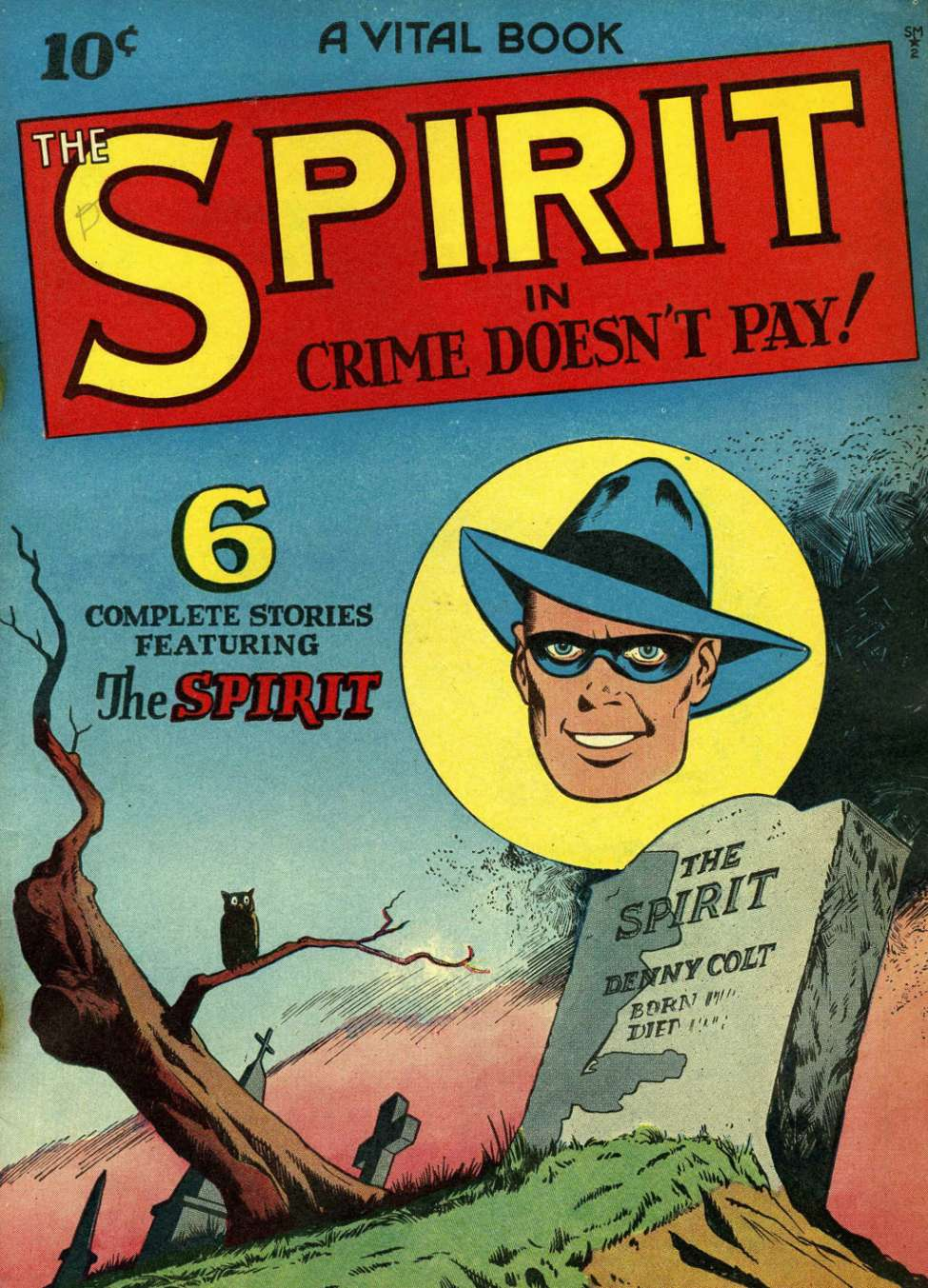 Comic Book Cover For The Spirit [2]