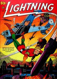 Large Thumbnail For Lightning Comics v2 #3