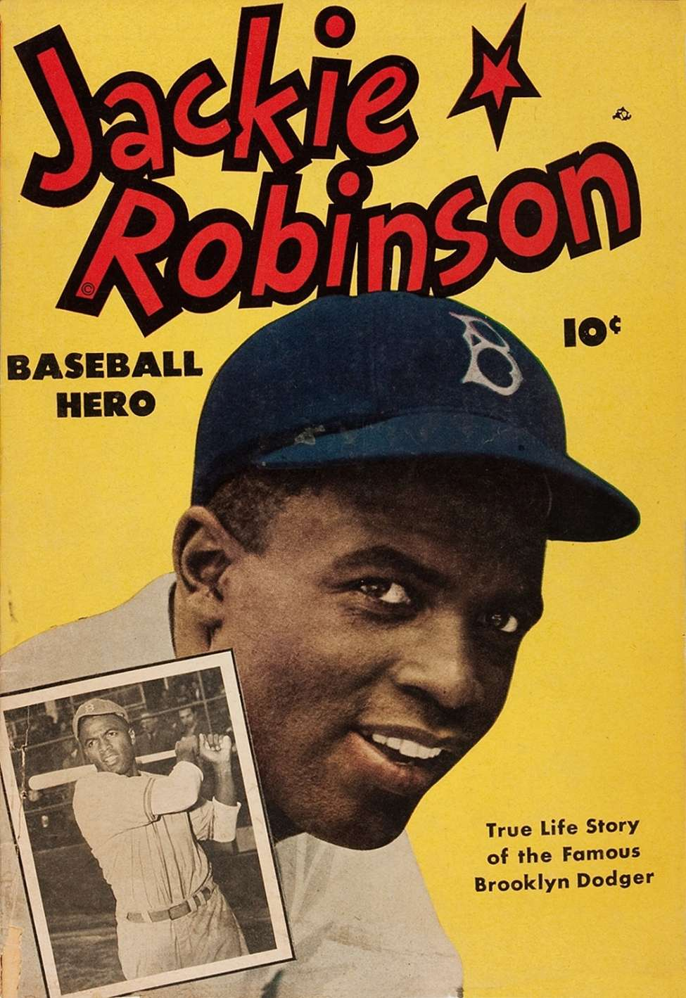 Comic Book Cover For Jackie Robinson [1]