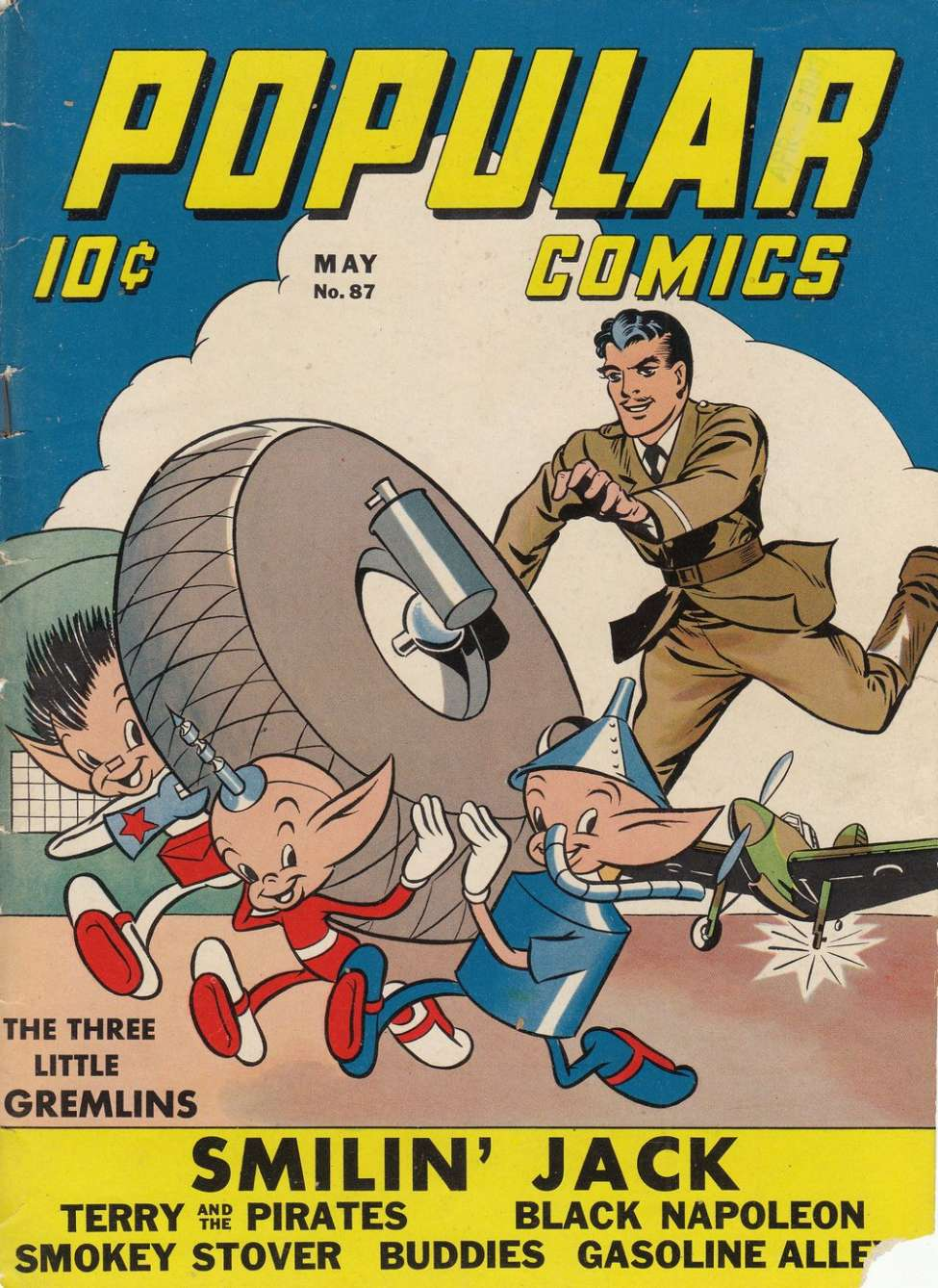Comic Book Cover For Popular Comics #87