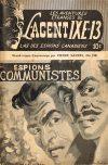 Cover For L'Agent IXE 13 v2 138 Espions communistes