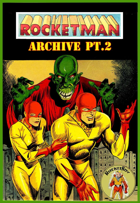 Comic Book Cover For Rocketman Archive Pt.2
