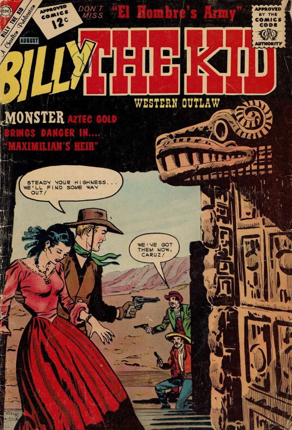 Comic Book Cover For Billy the Kid #35