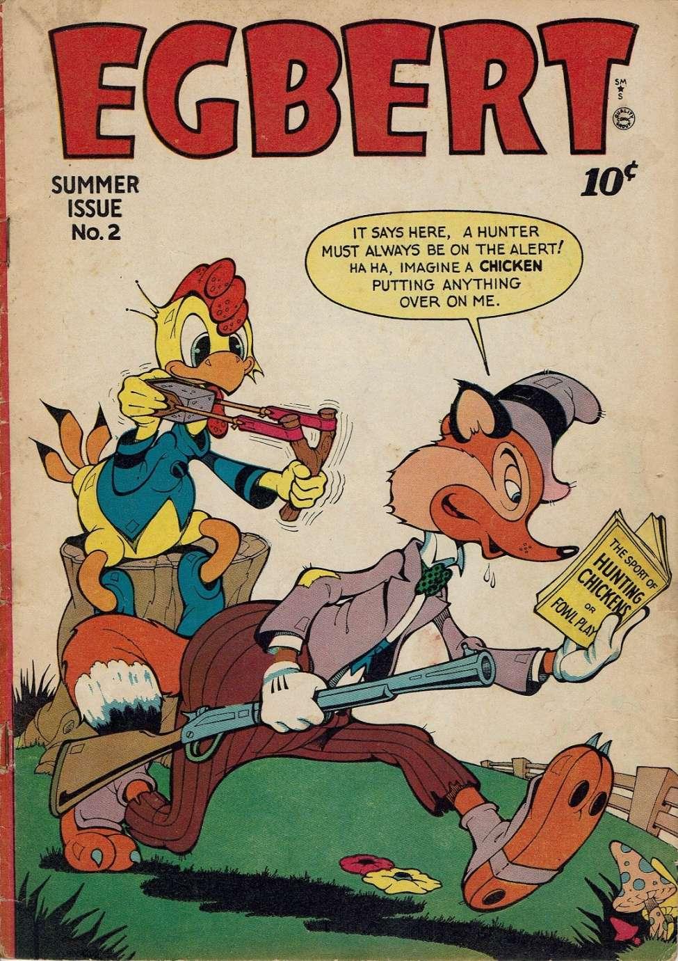 Comic Book Cover For Egbert #2