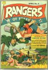 Cover For Rangers Comics 4
