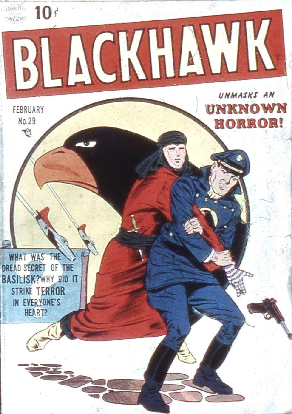 Comic Book Cover For Blackhawk #29