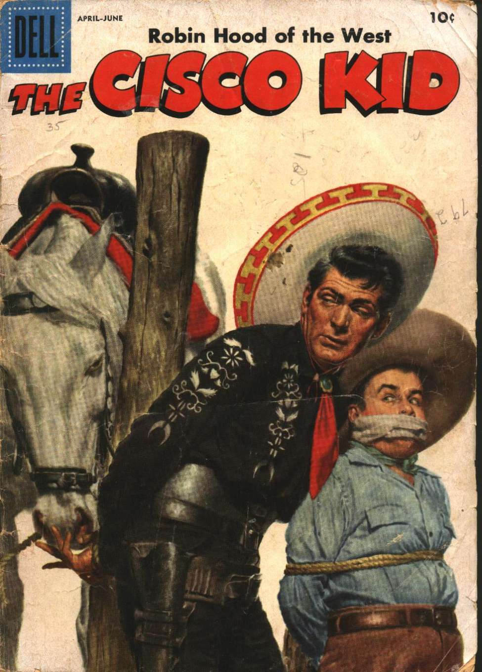 Comic Book Cover For The Cisco Kid 35