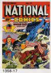 Cover For National Comics 17