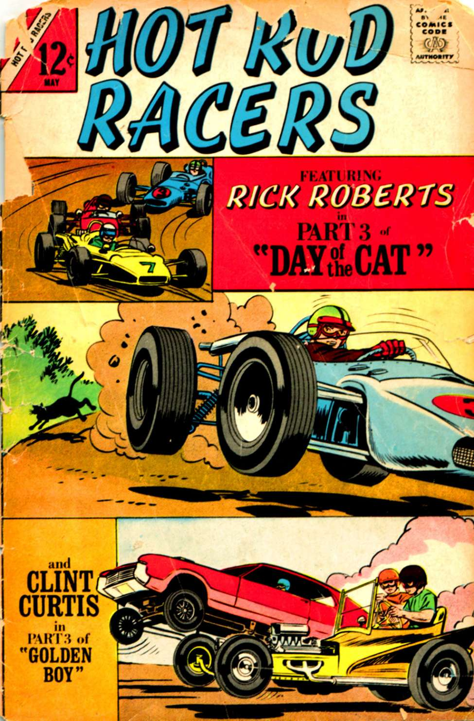 Comic Book Cover For Hot Rod Racers #14