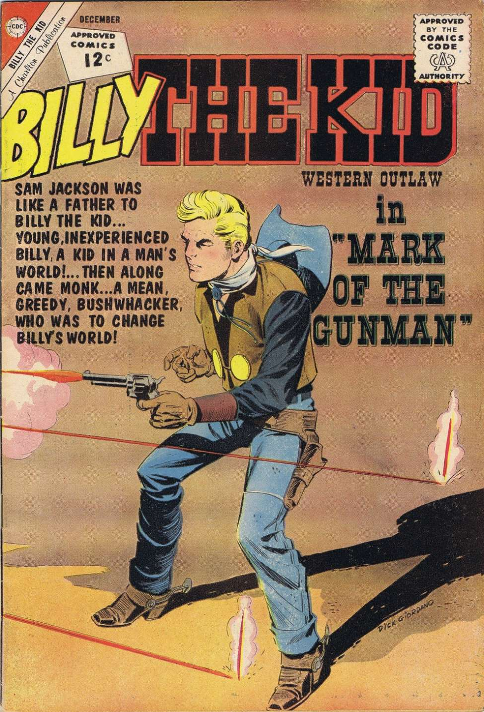 Comic Book Cover For Billy the Kid #37