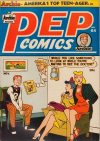 Cover For Pep Comics 64