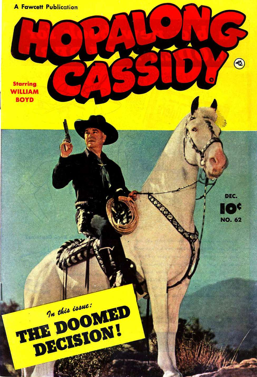 Comic Book Cover For Hopalong Cassidy #62