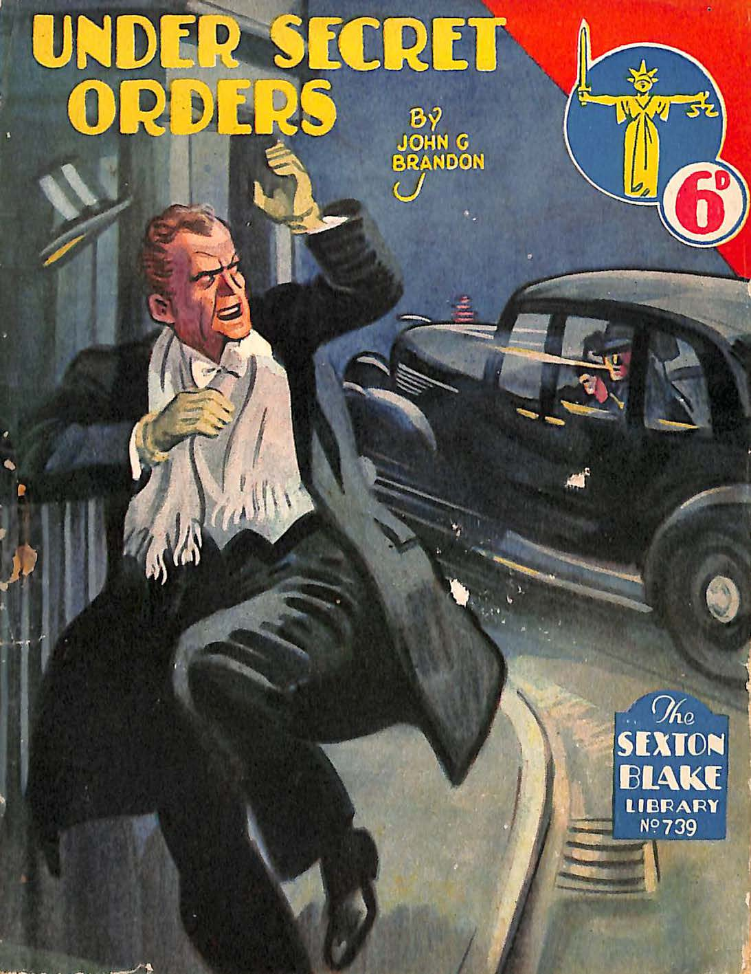 Comic Book Cover For Sexton Blake Library S2 739 - Under Secret Orders