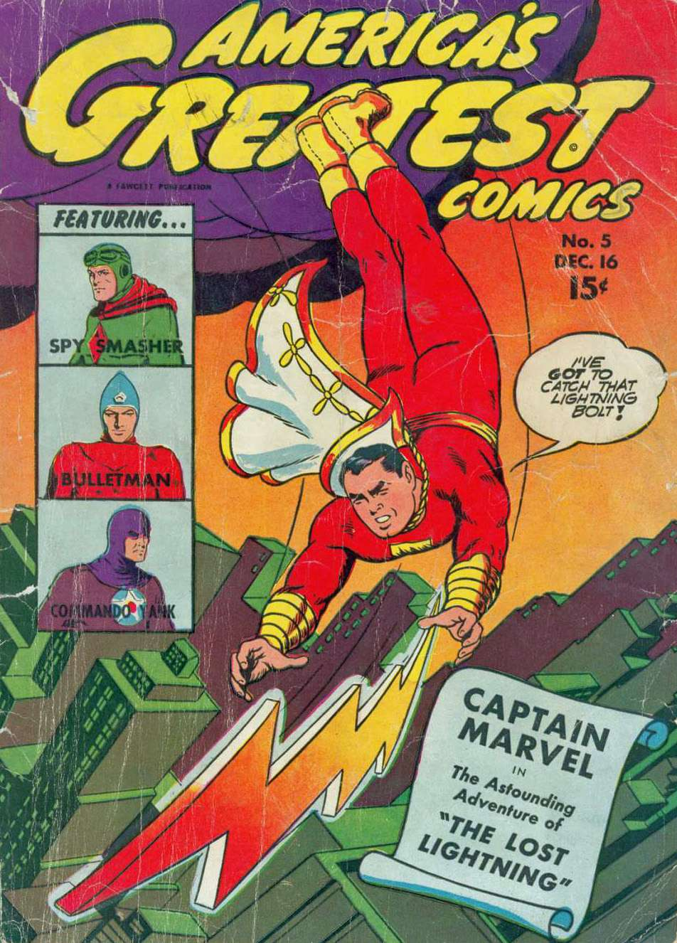 Comic Book Cover For Bulletman Archive Vol 07