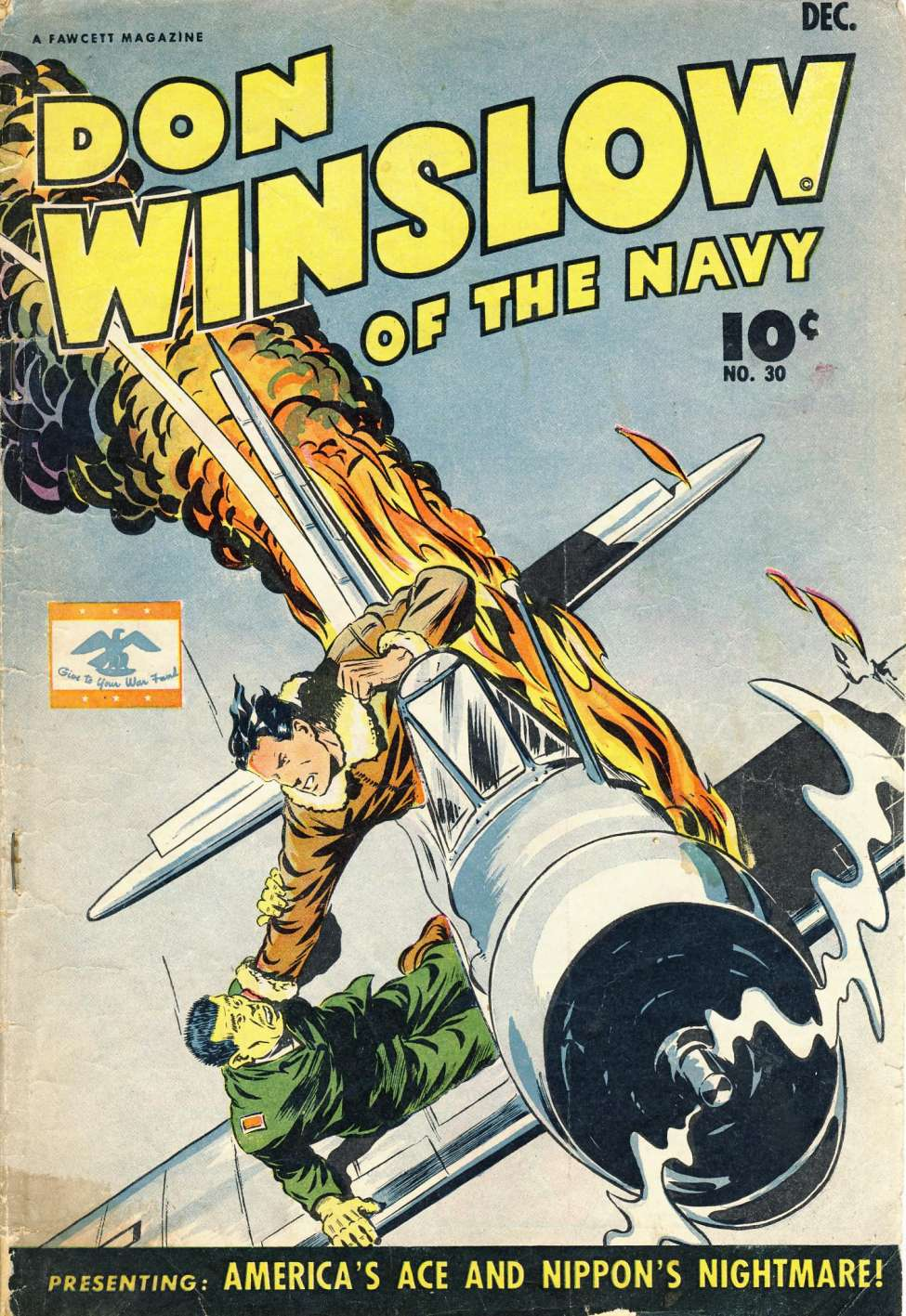 Comic Book Cover For Don Winslow of the Navy #30