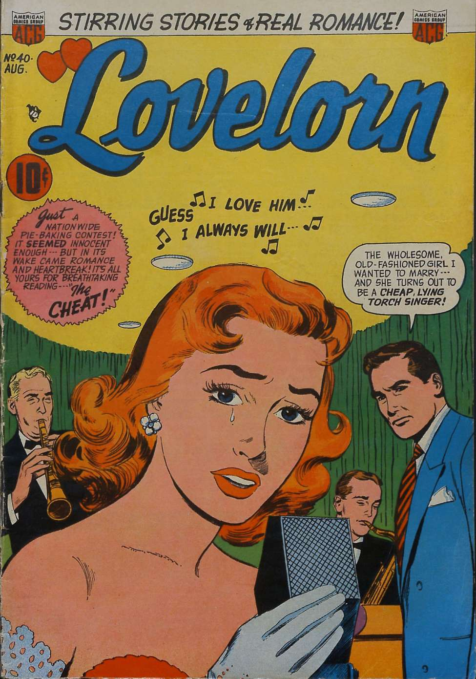 Comic Book Cover For Lovelorn #40
