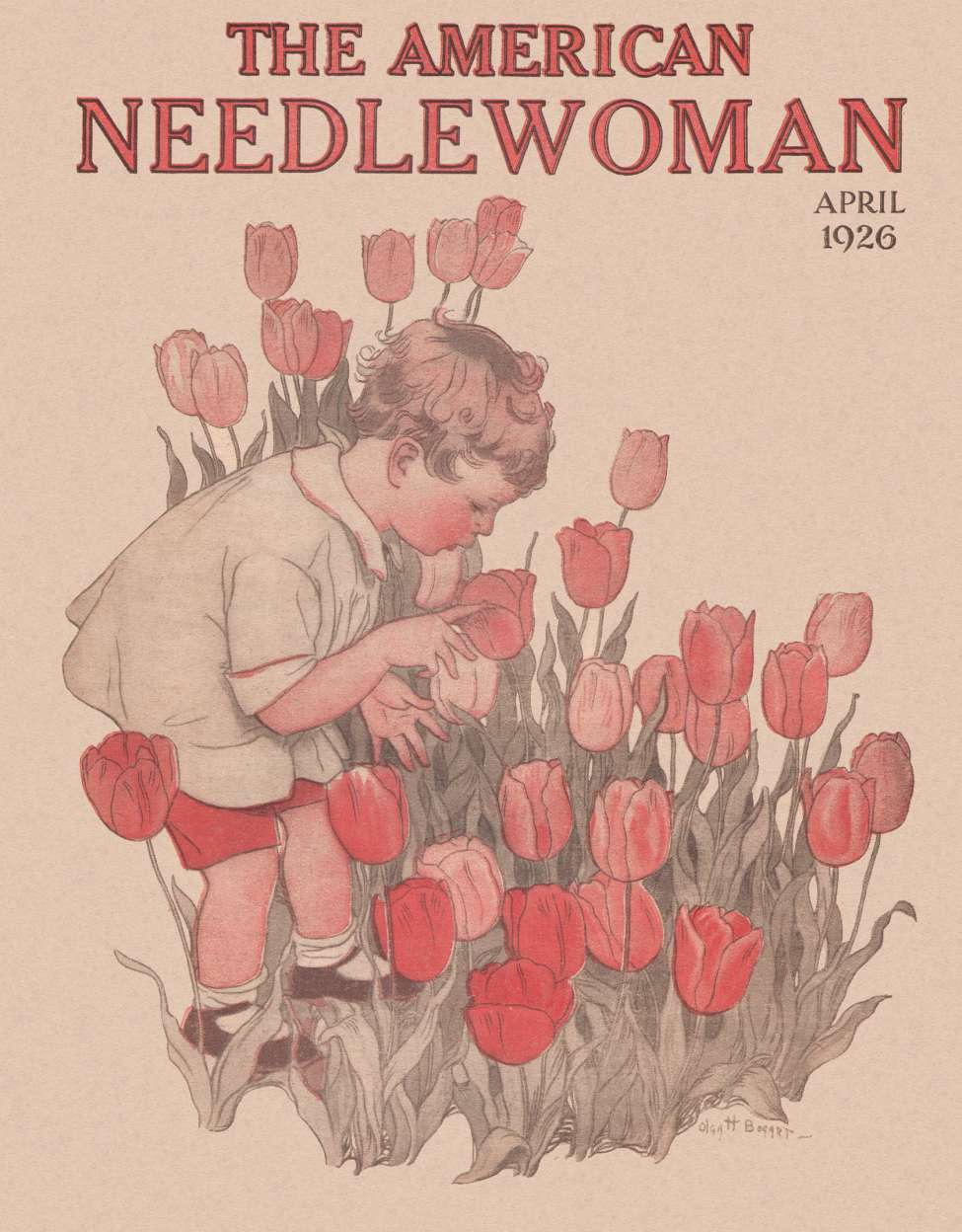 Comic Book Cover For The American Needlewoman v35 11