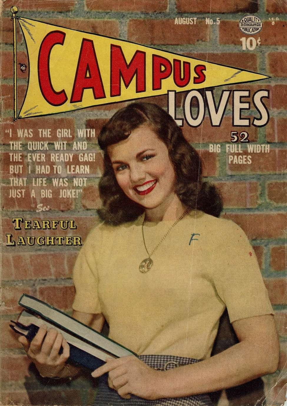 Comic Book Cover For Campus Loves #5