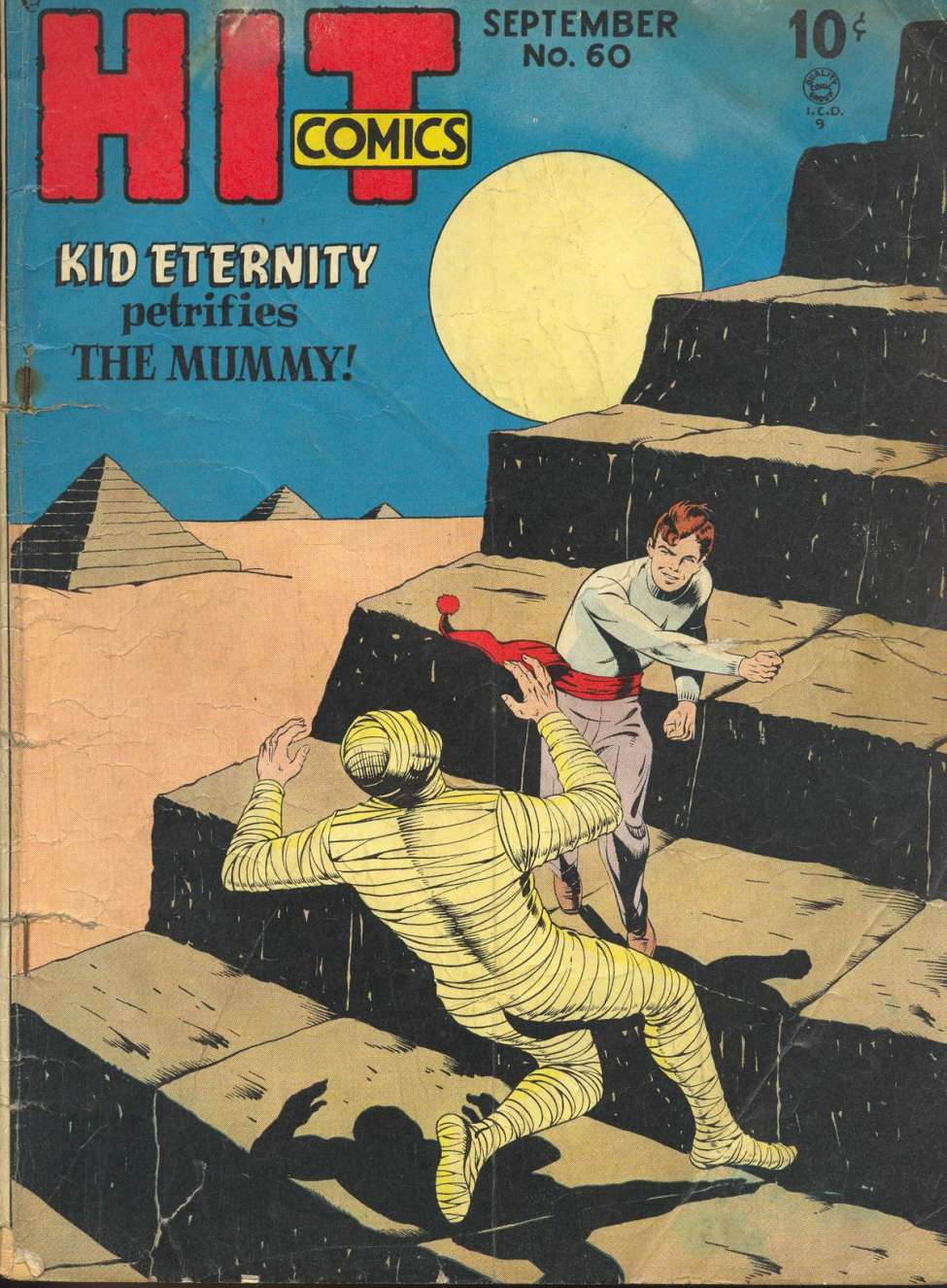 Comic Book Cover For Hit Comics #60