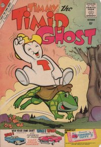 Large Thumbnail For Timmy the Timid Ghost #23