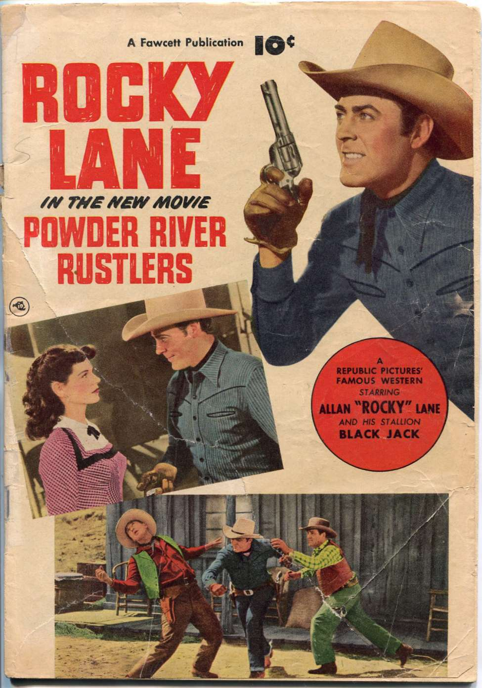 Comic Book Cover For Powder River Rustlers [nn]