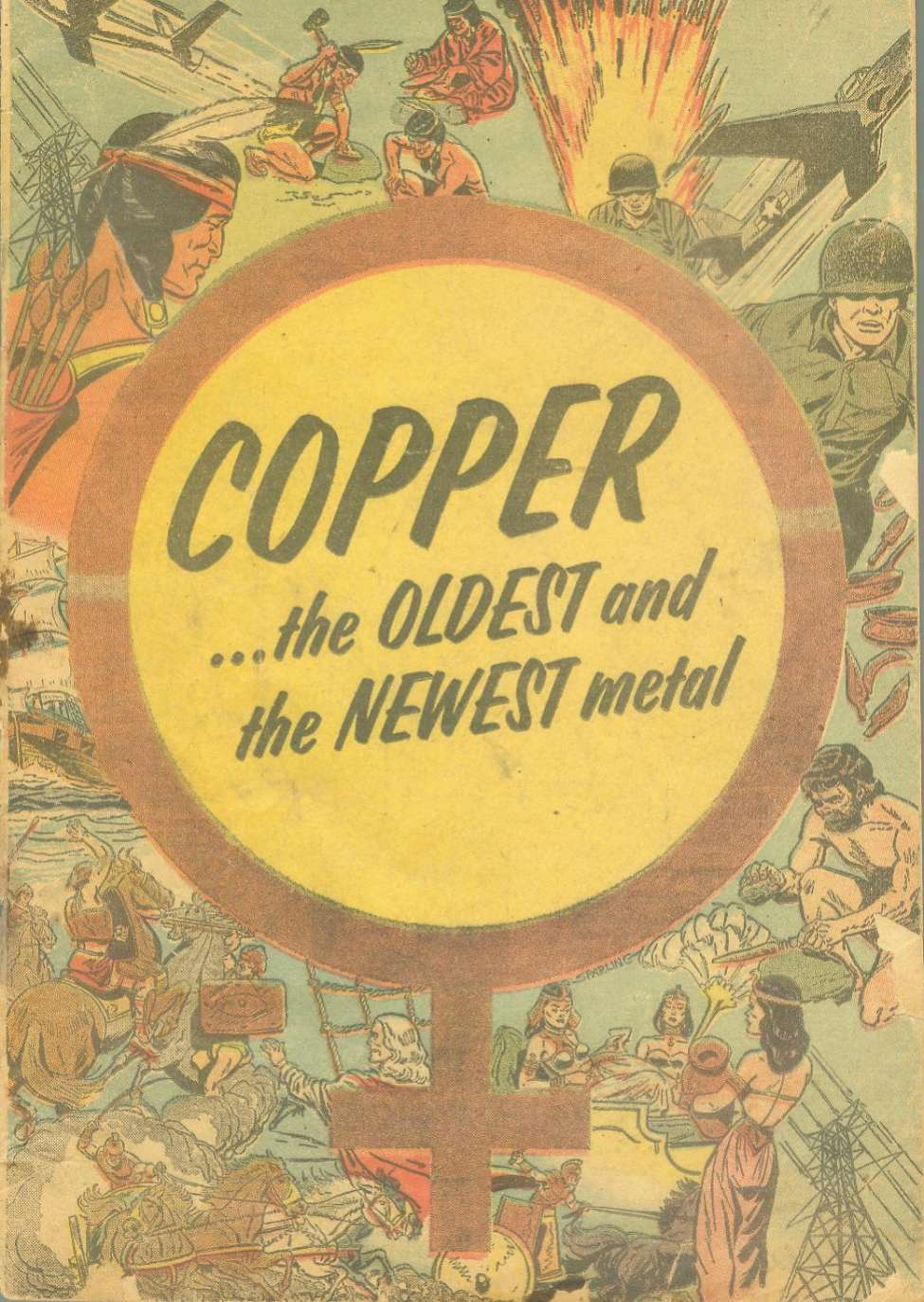 Comic Book Cover For Copper...the Oldest and the Newest Metal [nn]