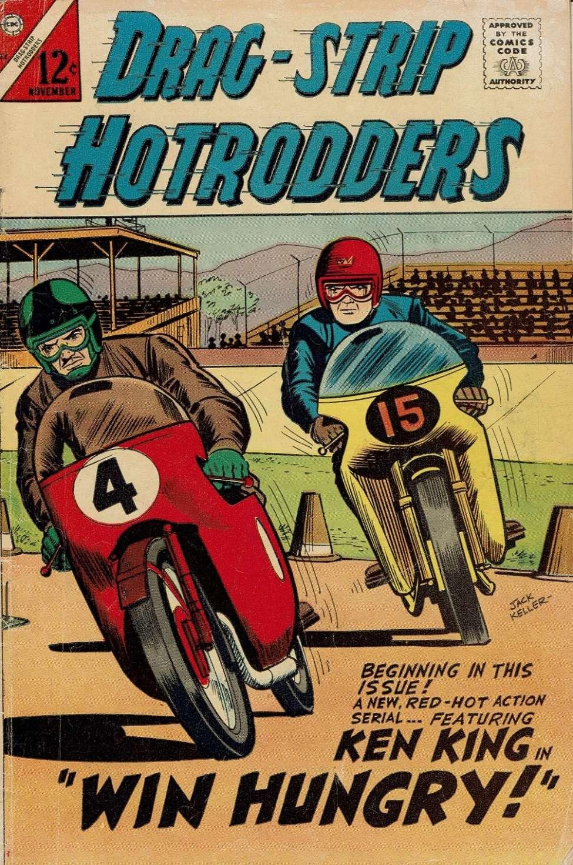 Comic Book Cover For Drag-Strip Hotrodders 12
