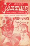 Cover For L'Agent IXE 13 v2 159 Le mardi gras tragique