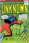 Cover For Adventures into the Unknown 106