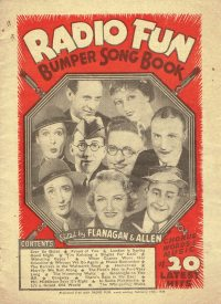 Large Thumbnail For Radio Fun Bumper Song Book